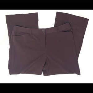 ⭐️Lane Bryant maroon Houston trouser